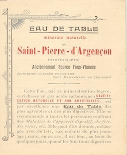 Histoire Source La Font Vineuse